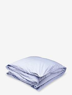 SATEEN SINGLE DUVET - kuddar & täcken - hamptons blue