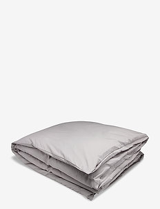 SATEEN SINGLE DUVET - duvets - moon grey