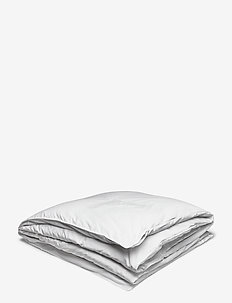 SATEEN SINGLE DUVET - puder og dyner - white