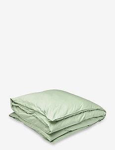 SATEEN DOUBLE DUVET - duvet covers - bloom green