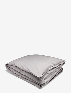 SATEEN DOUBLE DUVET - duvet covers - moon grey