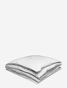 SATEEN DOUBLE DUVET - peitot - white