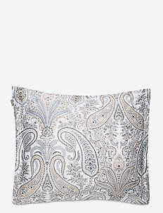 KEY WEST PAISLEY PILLOWCASE - pillowcases - grey