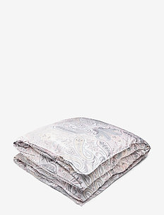 KEY WEST PAISLEY SINGLE DUVET - pussilakana - light pink