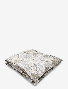 KEY WEST PAISLEY DOUBLE DUVET - dekbedovertrekken - dark earth brown