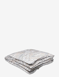 KEY WEST PAISLEY DOUBLE DUVET - duvet covers - grey