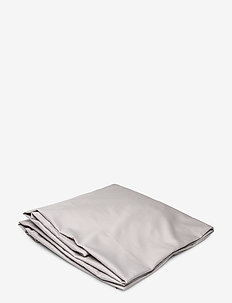 SATEEN SINGLE FITTED SHEET - bedsheets - moon grey