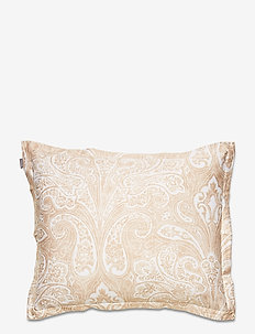 FRENCH PAISLEY PILLOWCASE - kussenslopen - dry sand