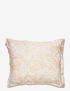 FRENCH PAISLEY PILLOWCASE - pillowcases - dry sand