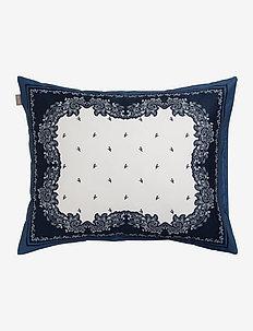BANDANA PAISLEY PILLOWCASE - pillowcases - yankee blue