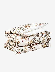 GARDEN DOUBLE DUVET - white