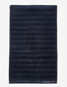 LINE TOWEL 30X50 - sateen blue