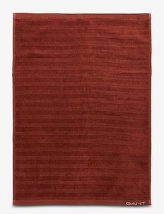 LINE TOWEL 50X70 - ROSEWOOD BROWN