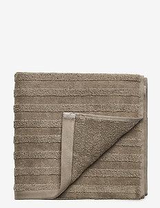 LINE TOWEL 50X70 - STONE GREY