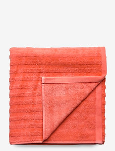 LINE TOWEL 70X140 - towels - coral orange