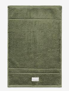 ORGANIC PREMIUM TOWEL 30X50 - handtücher & badetücher - agave green