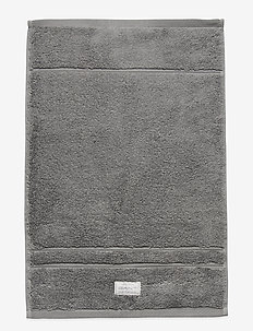 ORGANIC PREMIUM TOWEL 30X50 - hand towels & bath towels - elephant grey