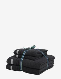 ORGANIC PREMIUM 4p 50x70 70x140 - towels - antracite