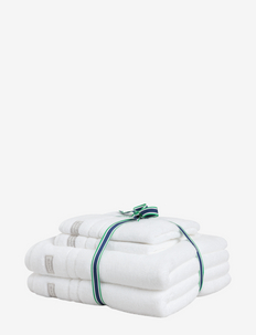 ORGANIC PREMIUM 4p 50x70 70x140 - hand towels & bath towels - white