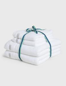 ORGANIC PREMIUM 4p 50x70 70x140 - ręczniki kąpielowe - white