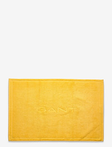 ORGANIC SHOWERMAT 50X80 - bath rugs - mimosa yellow