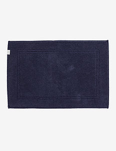 ORGANIC BATHRUG 60X90 - bath mats - sateen blue