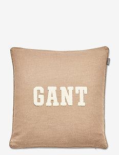 GANT CUSHION - kissen - desert brown