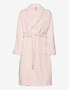 PREMIUM VELOUR ROBE - bathrobes - nantucket pink
