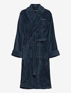 PREMIUM VELOUR ROBE - SATEEN BLUE