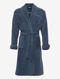 ORGANIC PREMIUM  ROBE - bathrobes - sateen blue