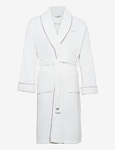 ORGANIC PREMIUM  ROBE - bathrobes - white