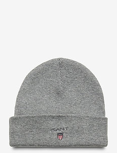 D1. ORIGINAL BEANIE - mützen - light grey melange