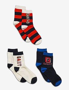 D1. VARSITY 3- PACK SOCKS - socks - evening blue