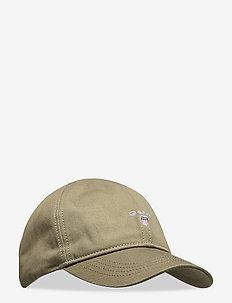 GANT TWILL CAP - four leaf clover