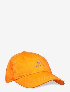 O2. CONTRAST TWILL CAP - SUNNY ORANGE