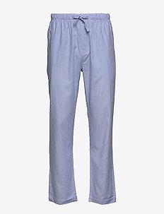 WOVEN PAJAMA PANTS CLASSIC STRIPE - pyjamas - white