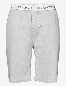 JERSEY PAJAMA SHORTS - casual shorts - light grey melange