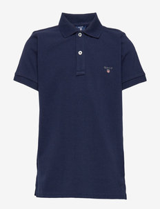 THE ORIGINAL SS PIQUE - poloshirts - evening blue