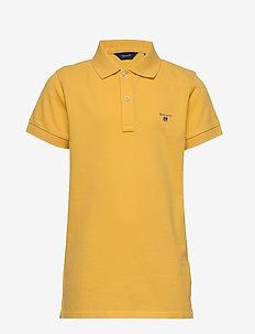 THE ORIGINAL SS PIQUE - poloskjorter - mimosa yellow