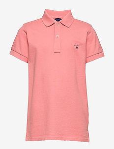THE ORIGINAL SS PIQUE - poloskjorter - strawberry pink