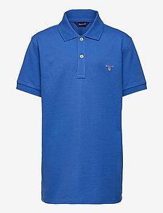 D1.  THE ORIGINAL PIQUE - poloskjorter - strong blue