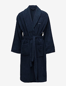 TERRY ROBE - underwear - yankee blue