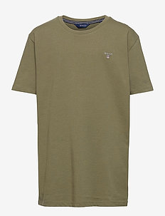 THE ORIGINAL SS T-SHIRT - kortærmede - deep lichen green