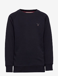 D1. THE ORIGINAL C-NECK SWEAT - sweatshirts - evening blue