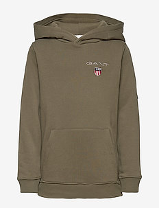 D1. MEDIUM SHIELD SWEAT HOODIE - hoodies - sea turtle