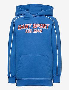 D1. GANT SPORT HOODIE - hettegensere - strong blue