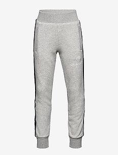 D1. LOCK UP STRIPE PANTS - jogginghosen - light grey melange