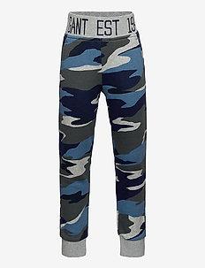D1. LANDSCAPE SWEAT PANTS - jogginghosen - evening blue