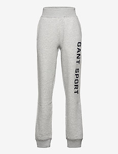 D1. GANT SPORT SWEAT PANTS - joggings - light grey melange