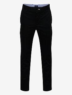 GANT CHINO - byxor - black